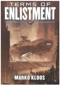 Cover art of Terms of Enlistment by Marko Kloos
