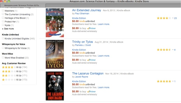 Trinity on Tylos as a Kindle Countdown deal