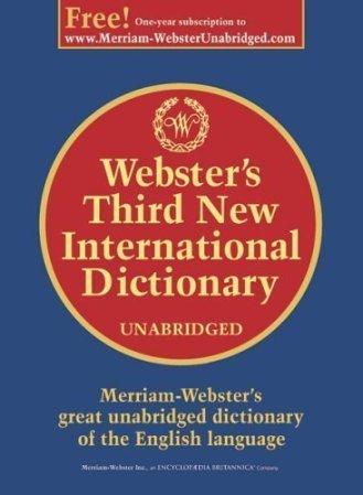 Webster's 3rd