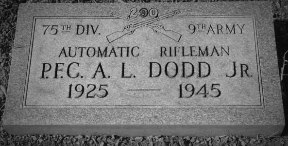 AL Dodd marker